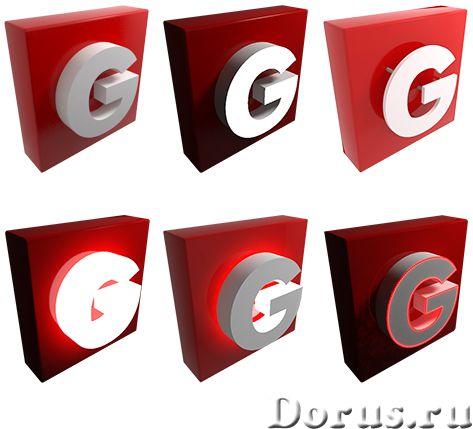 Объёмные буквы из пенополистирола - Рекламные услуги - Компания «Лесторг СВ» занимается изготовление..., фото 1
