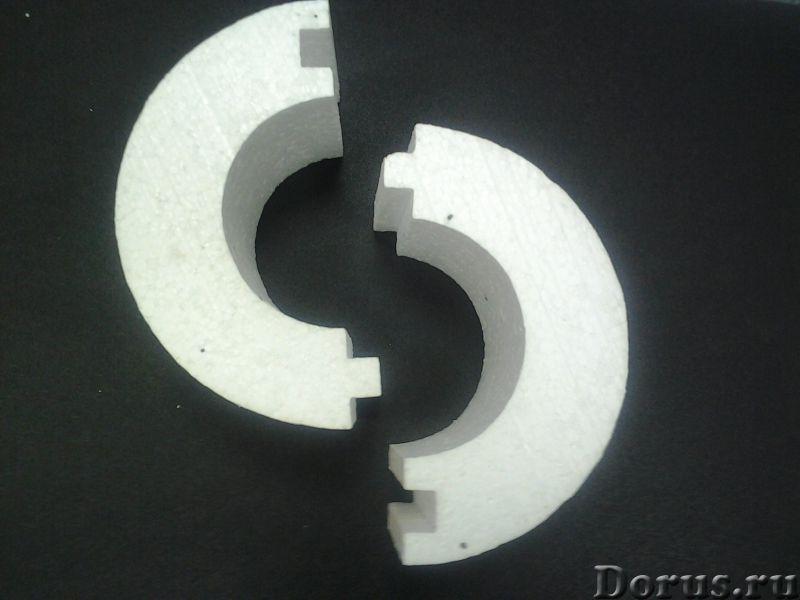 """Теплоизоляция для труб """"скорлупа"""" - Сантехника - Теплоизоляционные скорлупы из пенополистирола (пено..., фото 3"""